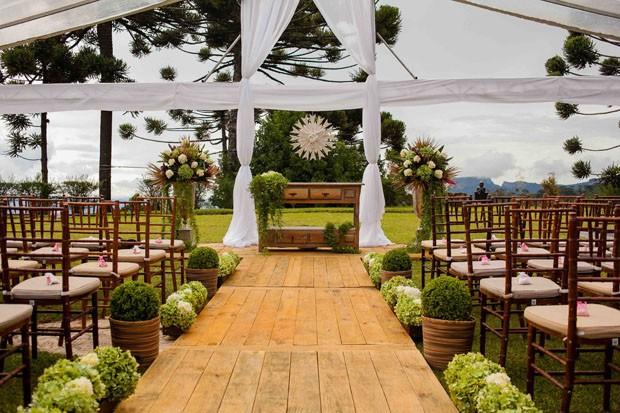 Well-known O casamento ideal, no campo ou na cidade - Casa Vogue | Decoração SZ27