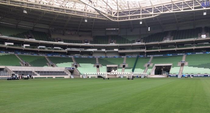 Gramado Arena Palmeiras (Foto: Felipe Zito)