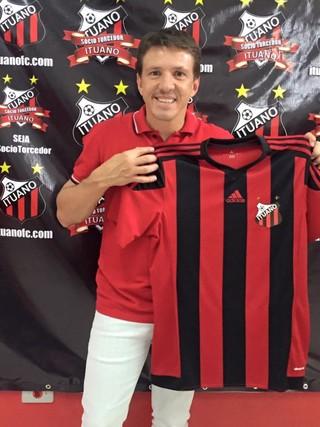 Ituano, Adidas, Juninho Paulista (Foto: Divulgação / Ituano FC)