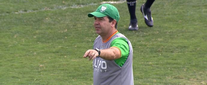 Enderson Moreira, América-MG (Foto: Reprodução/ TV Globo Minas)