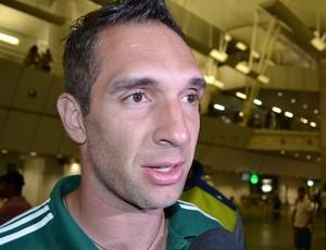 Fernando Prass, goleiro do Palmeiras (Foto: Jocaff Souza)