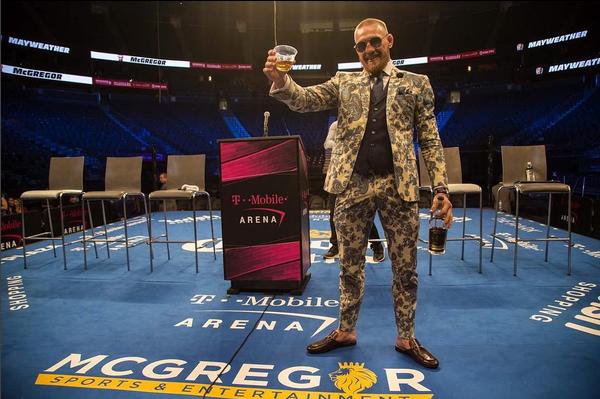O lutador Conor McGregor (Foto: Instagram)