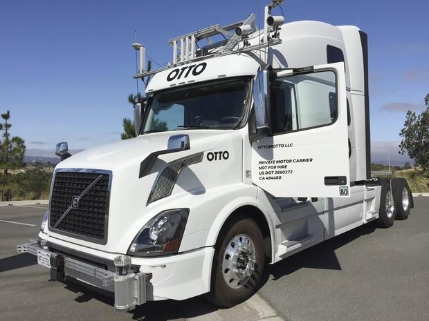 Uber comprou start-up Otto, que desenvolve caminhões autônomos (Foto: REUTERS/Alexandria Sage)