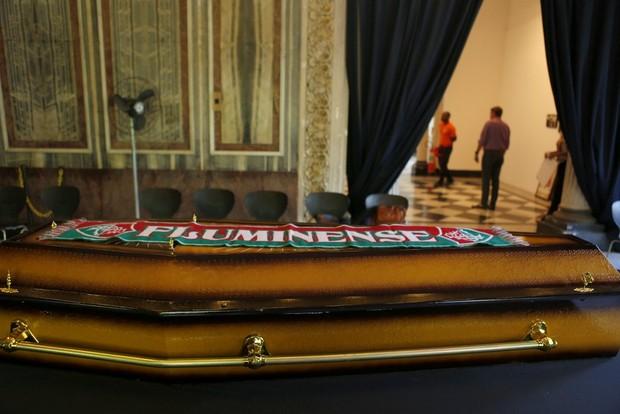 Velório de Hugo Carvana (Foto: Marcos Serra Lima/EGO)