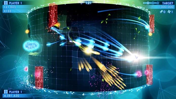 Cenários geométricos e um frenesi de cores vai invadir a sua tela (Foto: Divulgação)