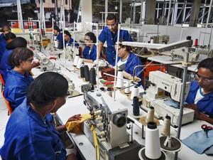 Confecções são responsáveis por 21 mil postos de trabalho (Foto: Leandro Martins)