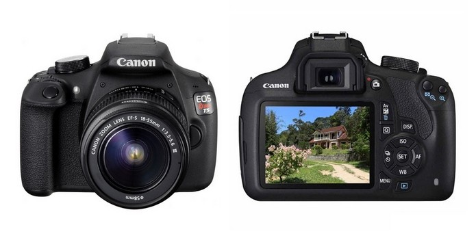 Canon EOS Rebel T5 (Foto: Divulgação/Canon)