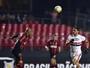 Thiago Heleno usa a etapa final contra o São Paulo de exemplo no Atlético-PR
