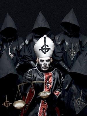 As 'bestas sem nome' do Ghost (Foto: Divulgação)