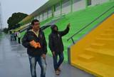 CBF realiza vistoria no Aluízio Ferreira para jogos da Copa Verde e do Brasil