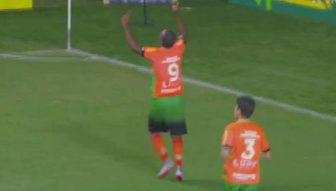 Borges gol América-MG x RB Brasil - frame