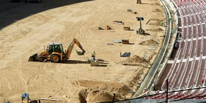 BLOG: Novo estádio do Atlético de Madrid aguarda a visita de técnicos da Uefa