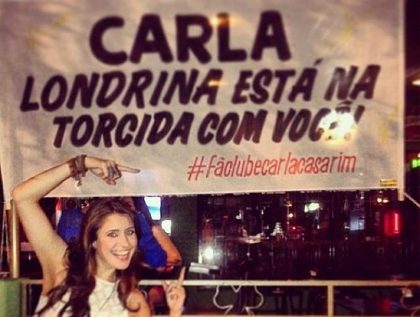 Carla Casarim The Voice (Foto: Reprodução/ Facebook)
