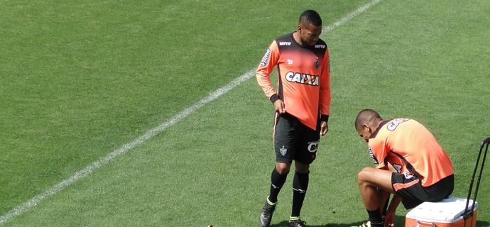 Robinho, atacante do Atlético-MG (Foto: Rafael Araújo)