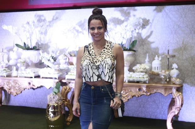 Viviane Araújo (Foto: Anderson Barros / Ego)