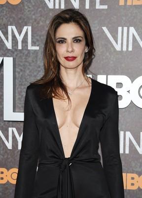 Luciana Gimenez em première em Nova York, nos Estados Unidos (Foto: Dimitrios Kambouris/ Getty Images/ AFP)