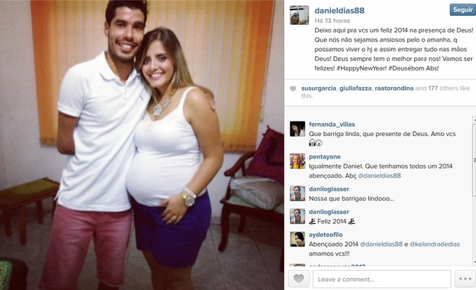 Daniel Dias  (Foto: Reprodução/Instagram)