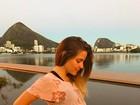 Vitoria Frate exibe barrigão de gravidez: 'Quantas semanas mais?