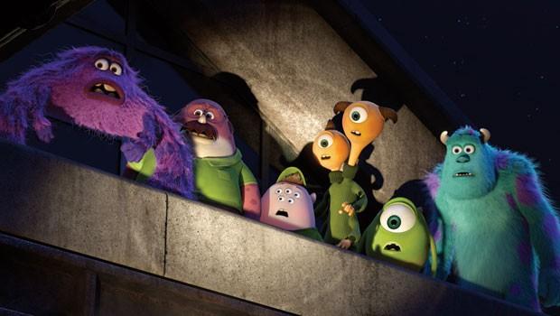 Em nova animação, monstrinhos percebem que terão que se unir e trabalhar com um estranho grupo de monstros que não se encaixam bem em nenhuma turma (Foto: Divulgação)