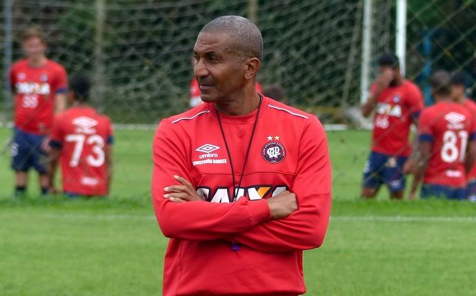 Cristóvão Borges Atlético-PR (Foto: Monique Silva)