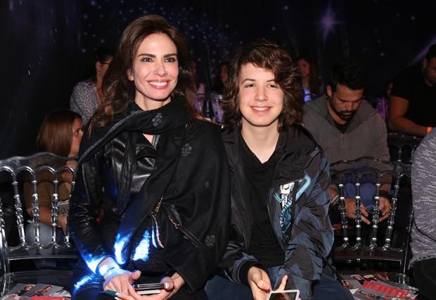 Luciana Gimenez e Lucas Jagger (Foto: Deivid Correa/AgNews)
