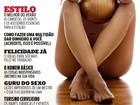 Veja capa de ensaio sensual de Sheilla Castro, da seleção de vôlei
