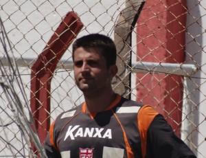 CRB - goleiro Galatto (Foto: Leonardo Freire/GLOBOESPORTE.COM)