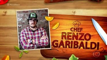 Conheça o chef Renzo Garibaldi