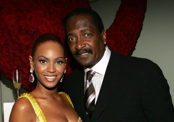 Beyoncé e seu pai, Mathew Knowles (Foto: Frank Micelotta/GettyImages)