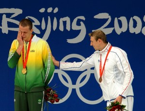 cesar cielo medalha de ouro PEquim 2008 (Foto: Agência Reuters)