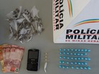 Três jovens são detidos com cocaína, maconha e crack em Itaobim