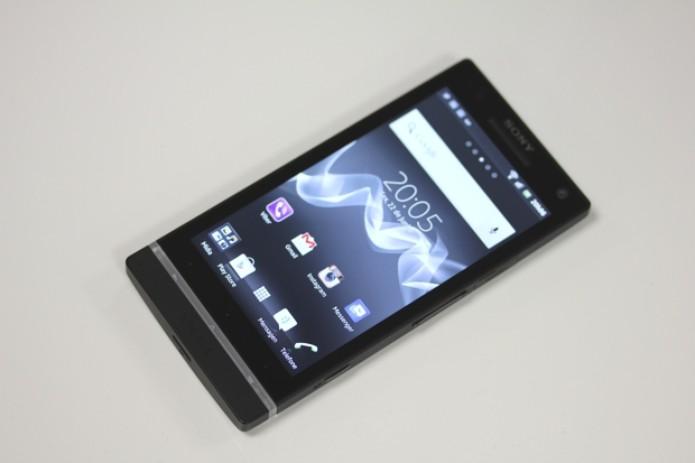 Sony Xperia S (Foto: TechTudo)