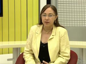 Titular da Semed, Antonia Andrade (Foto: Reprodução/TV Amapá)