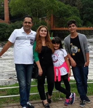 Amer Salha família Guarani Campinas Síria (Foto: Arquivo pessoal)