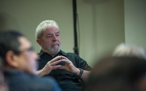 O ex-presidente Luiz Inácio Lula da Silva  (Foto:   ROGÉRIO GOMES/BRAZIL PHOTO PRESS)