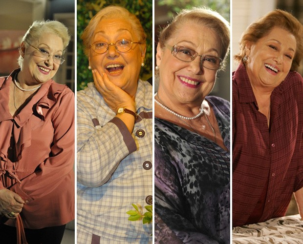 Suely Franco comemora 50 anos de carreira junto dos 50 anos da Globo (Foto: gshow)