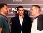 UFC Hamburgo: Josh Barnett fica 8kg acima de Andrei Arlovski na pesagem