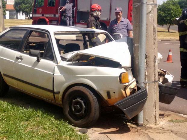 Mulher relatou aos médicos que perdeu os sentidos enquanto dirigia (Foto: Betto Lopes/TV Fronteira)