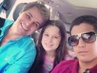 Edson Celulari abre o coração sobre filhos: 'Enzo e Sophia são especiais'