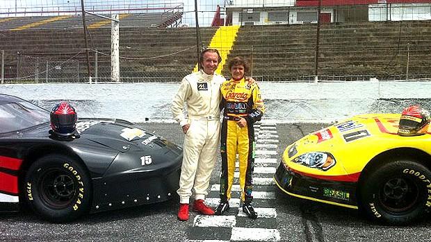 Emerson e Pietro Fittipaldi NASCAR (Foto: Divulgação)