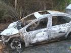 Após acidente, veículo pega fogo em São Luís, MA