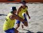 Três duplas brasileiras vencem na primeira rodada da etapa de Haia