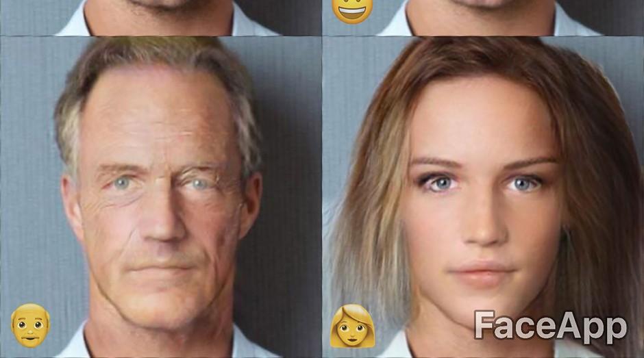 faceapp, aplicativo, mudança, informática, inteligência artificial, rostos (Foto: Divulgação)