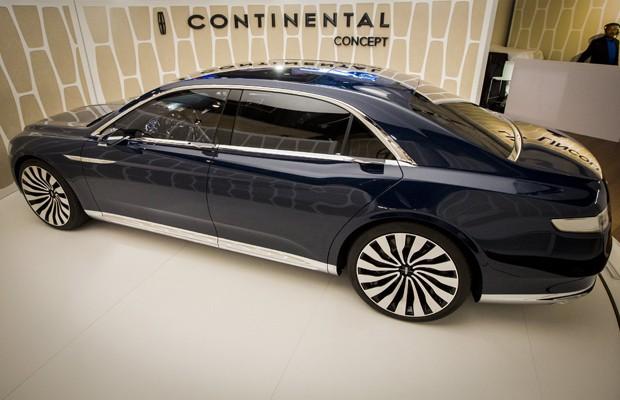 Lincoln Continental Concept (Foto: Brendan McDermid / Reuters)