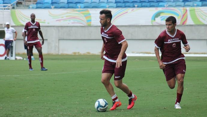 América-RN - treino coletivo (Foto: Canindé Pereira / América FC)