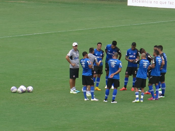 treino do Vasco da Gama (Foto: Edgard Maciel)