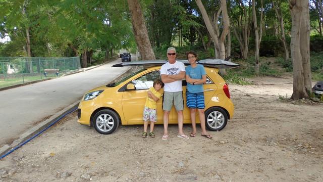 O marido Gerson e os filhos do casal. (Foto: Arquivo Pessoal)