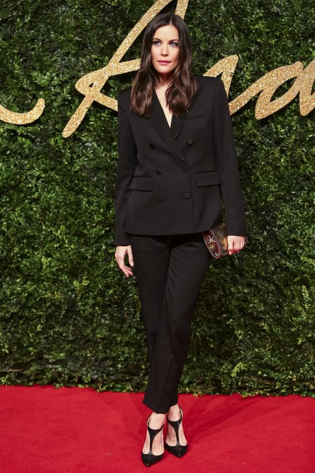 Liv Tyler no British Fashion Awards (Foto: AFP)