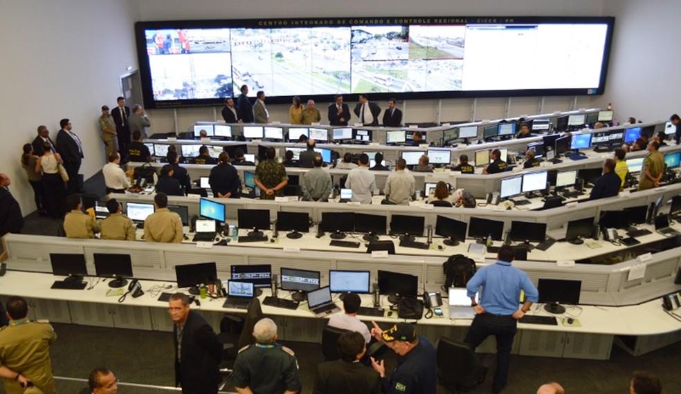 O Ciosp funciona no prédio da Escola de Governo, no Centro Administrativo do Estado, na Zona Sul de Natal.  (Foto: PM/Divulgação)
