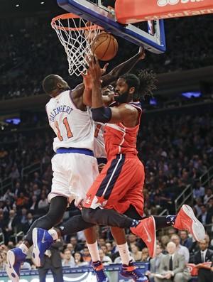 Nenê Wizards x Knicks NBA - AP (Foto: AP)